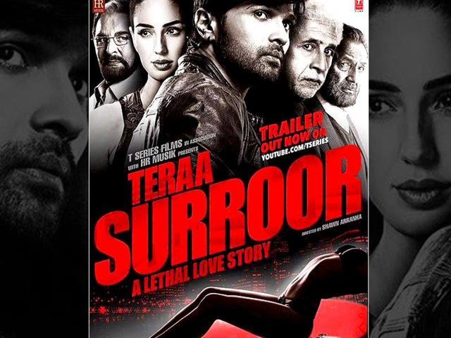 Directed by Shawn Arranha, Teraa Surroor stars Naseeruddin Shah, Shekhar Kapur, Himesh Reshammiya and Farah Karimaee.
