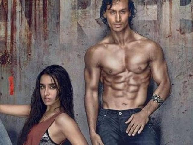 Tiger Shroff and Shraddha Kapoor in the Baaghi poster.