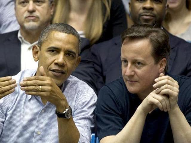 File picture of British PM David Cameron and US President Obama. White House called Cameron a partner and an ally on Friday, seeking to extinguish a diplomatic flap between the two nations.