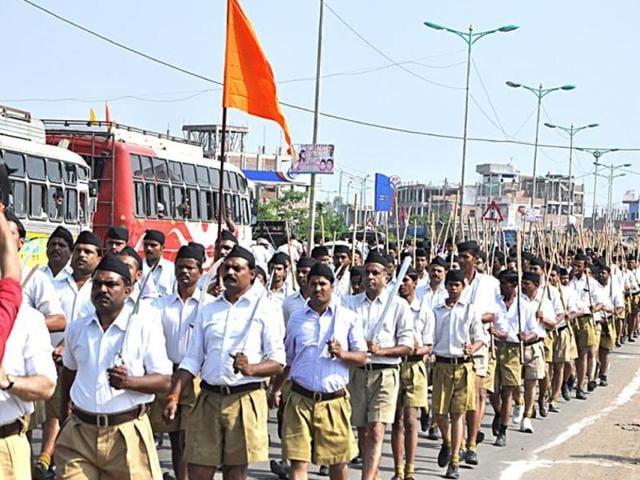 RSS meet,Nagaur,Anti-national activities