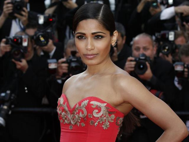 Freida Pinto's next film is Knight Of Cups which is directed by Terrence Malick. It stars Christian Bale, Natalie Portman and Cate Blanchett.