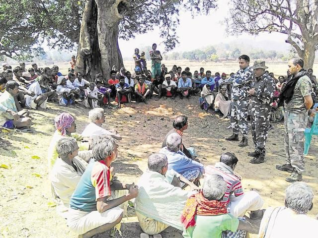 Jamti village, around 70 km from Jharkhand's Gumla town, is deep inside a dense forest identified as one of the Maoists' safest hideouts in Jharkhand.