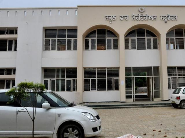 The School for Meritorius Students in Jalandhar.