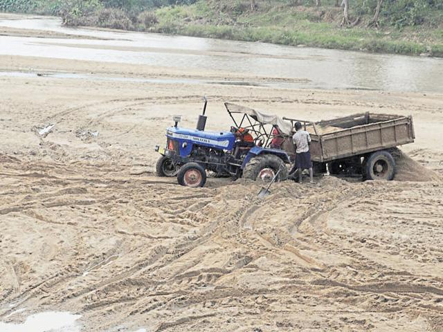 Jharkhand news,National Green Tribunal,sand mining