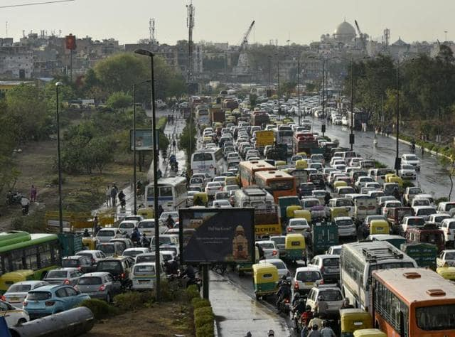Delhi descended into a traffic chaos on Friday, March 11, 2016, thanks to an Art of Living event, a religious gathering, 20,000 weddings and a spell of rain.