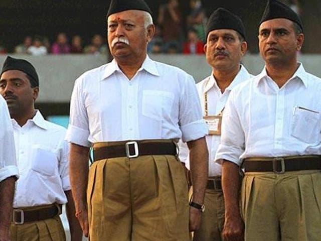 RSS,Shahid Afridi,Khaki shorts