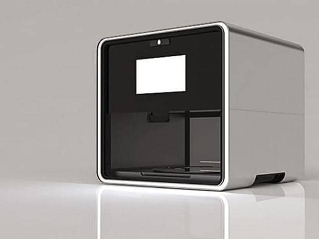 This 3D Food printer delivers real food. All you need is to feed it ingredients it asks for.