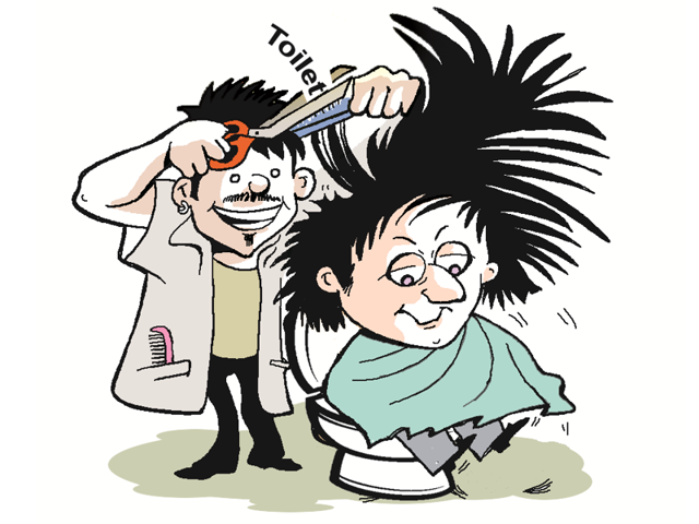 Barbers in Bhuteda village refuse to give a shave or haircut to anyone from a household that does not have a toilet.