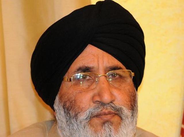 Education minister Dr Daljit Singh Cheema