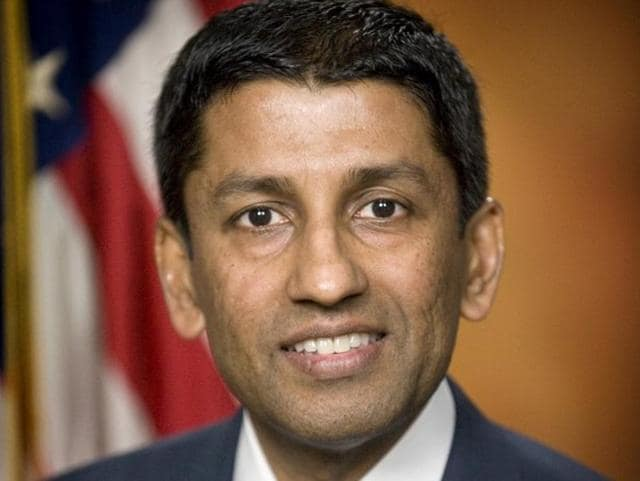 US deputy solicitor general Sri Srinivasan is pictured in this undated file photo.
