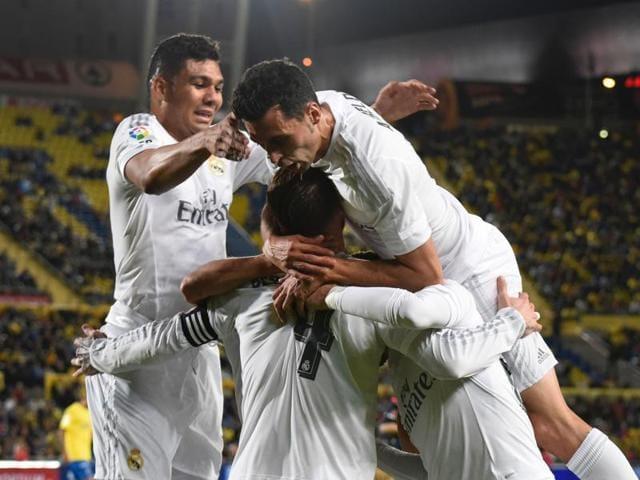 La Liga,Real Madrid vs Las Palmas,Zinedine Zidane