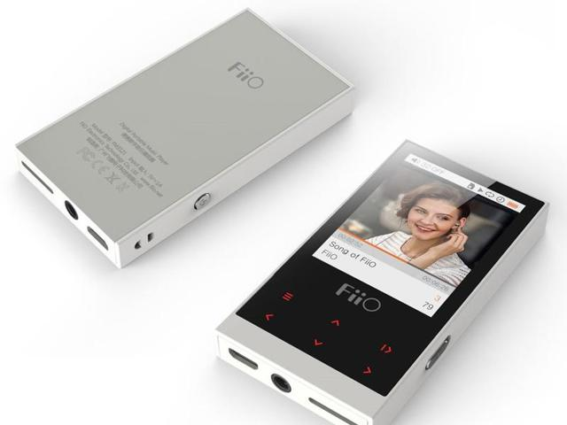 FiiO's M3 portable digital audio player supports lossless audio files and micro-SD cards of up to 64 GB.