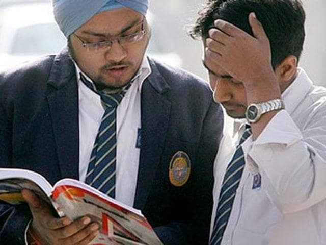 Students said even the exams of chemistry and physics were easier in comparison to mathematics.