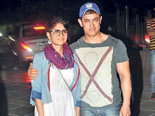 Aamir Khan was very interested in lawn tennis during his school days. (HTPhoto)