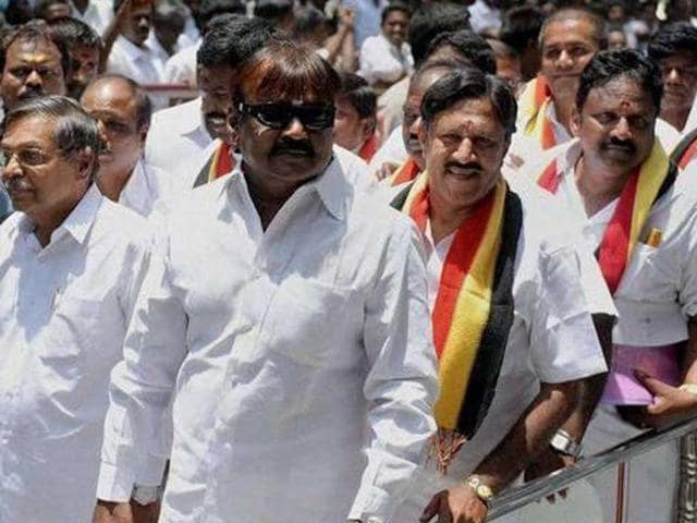 The DMDK became the second-largest party in the assembly, relegating the DMK to third position.