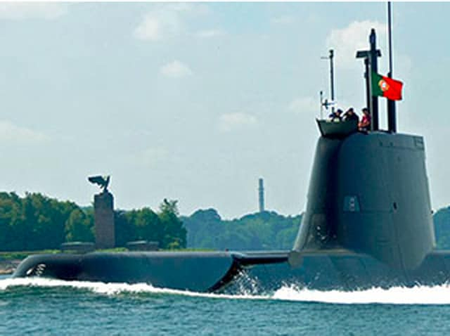 TKMS's HDW Class 214 submarine, one of the vessels in the race for Australia's $38-billion contract for 12 submarines.