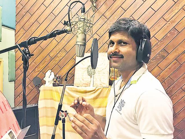 Hari Om, 40, currently serving as commissioner consolidation, has made an entry into Bollywood with his first composition.