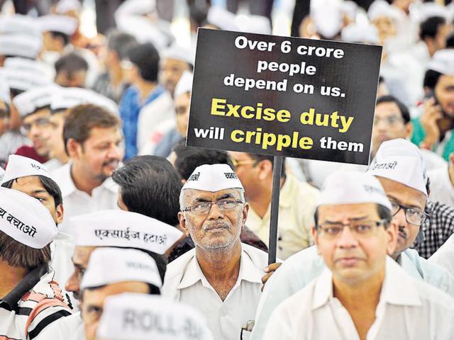 Jewellers strike,Artisans,1% excise duty
