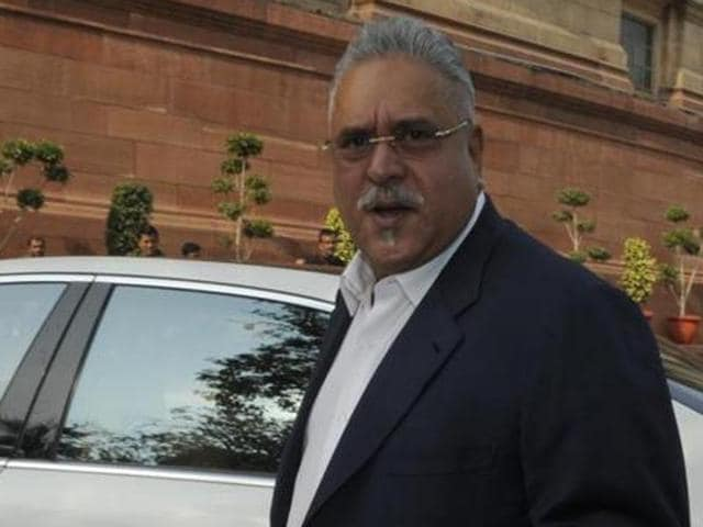 Rajya Sabha MP and Chairman of the UB Group Vijay Mallya during the Parliament winter session at Parliament House in New Delhi, India on Tuesday, December 09, 2014.