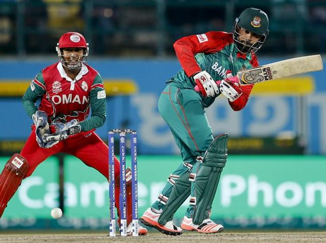 Tamim Iqbal became the first Bangladesh player to score a hundred in a Twenty20 International.