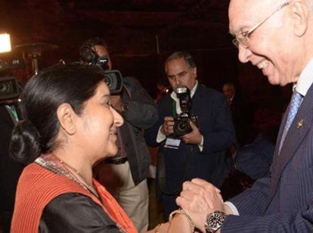 India,Pakistan,Sushma Swaraj