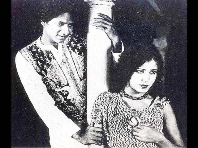 A still from Alam Ara.