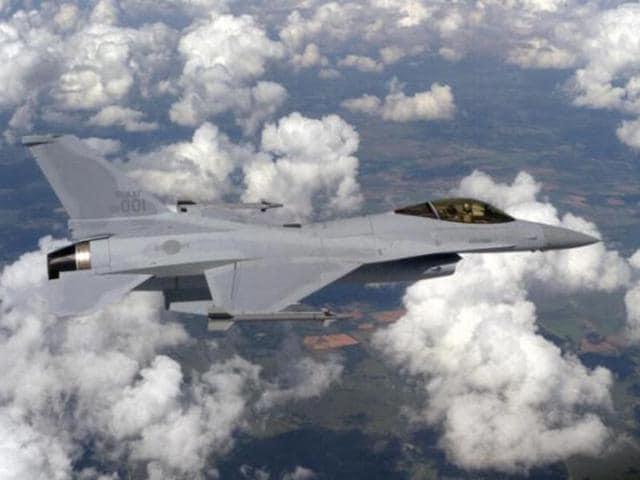 File photo of Lockheed Martin F-16 combat jet.