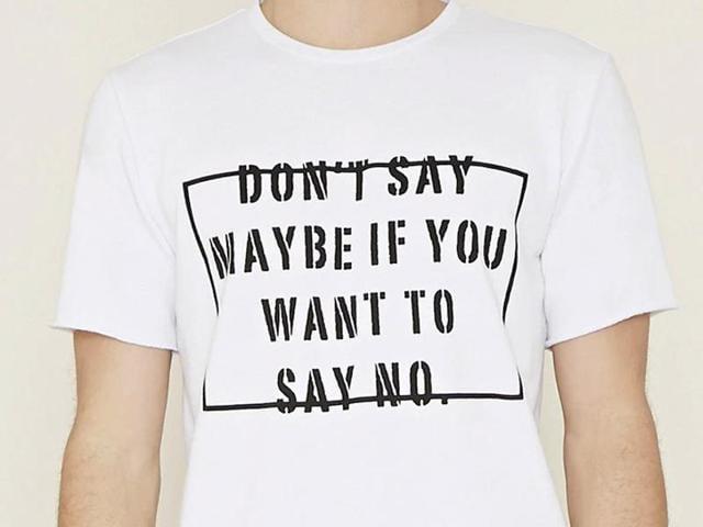 Forever 21,Rape Culture,Forever 21 T-shirt