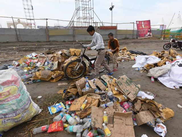 AoL event: Big cleanup begins after 3 days of culture fest