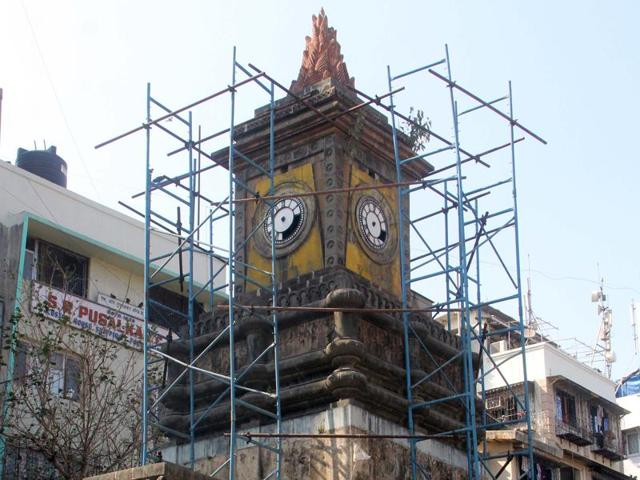 Wadia Clock Tower,restoration,heritage structure