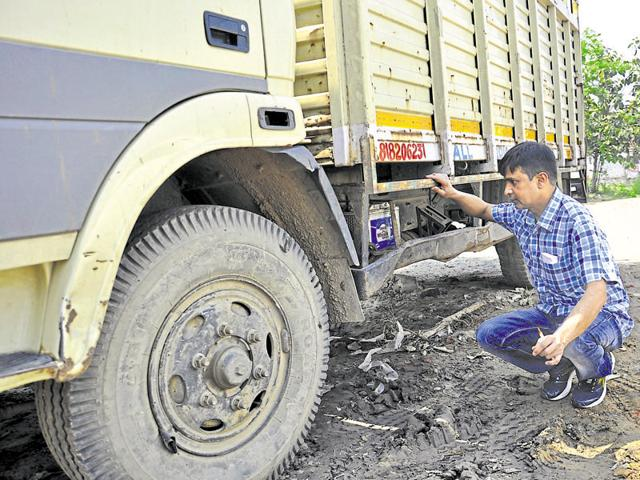 Transporters had approached the transport department in Noida last week and said fitness certificates were issued to two trucks.