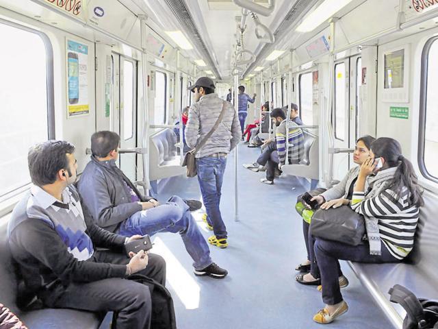 Rapid Metro,Gurgaon,Ridership