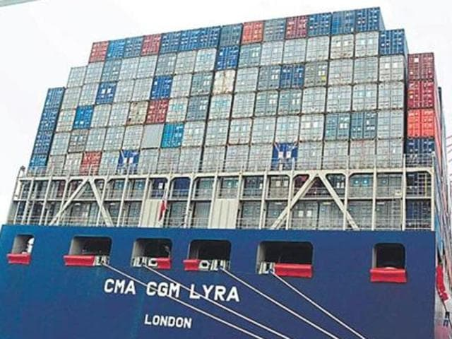 India's exports contracted for the 15th month in a row, dipping 5.66% in February.