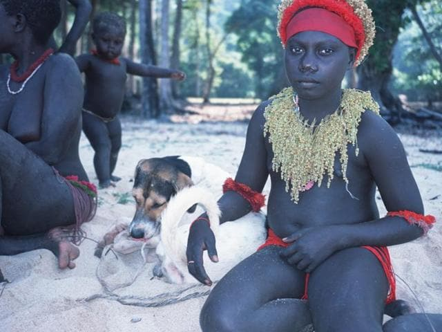 India has a hands-off policy with the 400-strong Jarawa tribe who lived in complete cultural isolation until 1998.