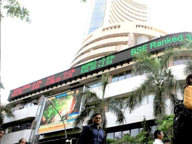 The 30-share Sensex ended at 24,551.17, showing a loss of 253.11 points or 1.02%.