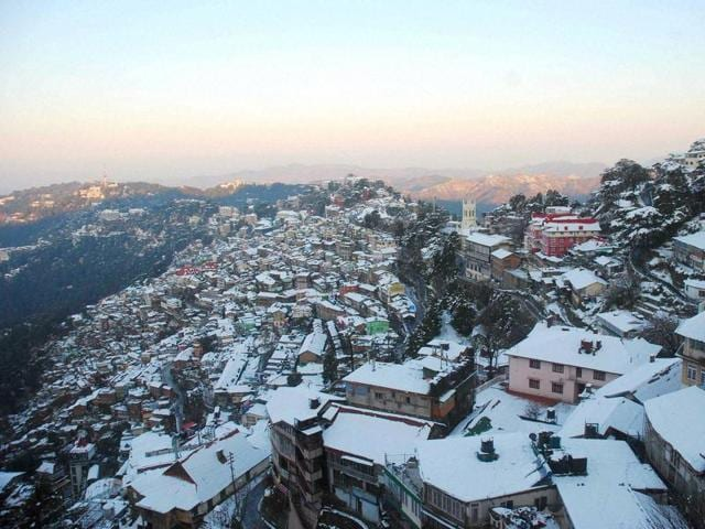 No construction will be permitted in green areas in Shimla.