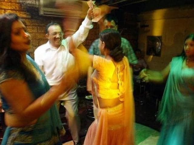 Maharashtra in 2005 suspended the licences of hundreds of bars and hotels that featured skimpily dressed women dancing to Bollywood tunes on a small stage for male customers.