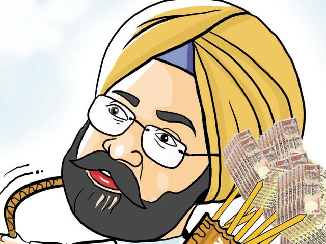 Punjab finance minister Parminder Singh Dhindsa on Tuesday presented his fifth consecutive budget.