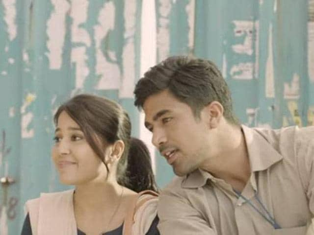 Shweta Tripathi, Saqib Saleem in Koi Dekh Lega. (YouTube)