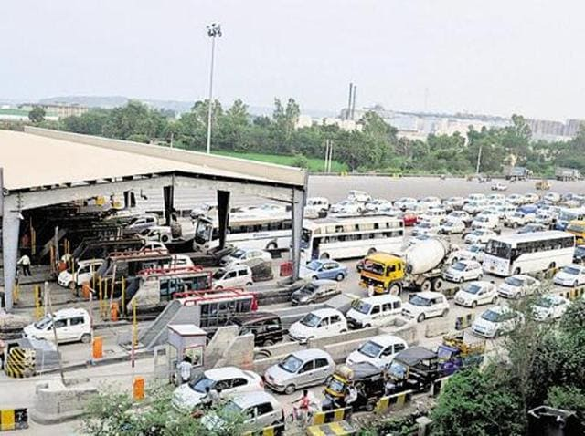 On the five state highways developed by the company, it was collecting toll at five toll points on its own or through contractors.