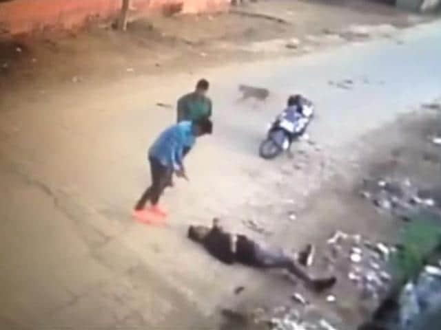 Screenshot from CCTV video clip.
