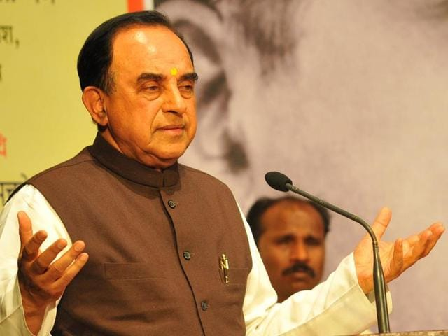 BJP leader Subramaniam Swamy said it's strange the NDA government is supporting the controversial Jet-Etihad Airways deal approved by the then UPAdispensation/
