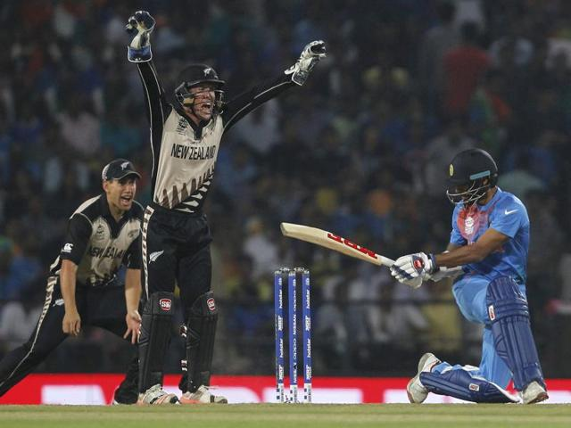 "MS Dhoni blamed India's famed batting line-up for the shocking loss to New Zealand in their opening match of the ICC World T20, saying they erred in ""shot selection""."