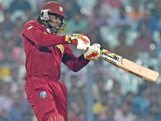 West Indies will hope for a good knock from Chris Gayle to help them overhaul England's 182/6.