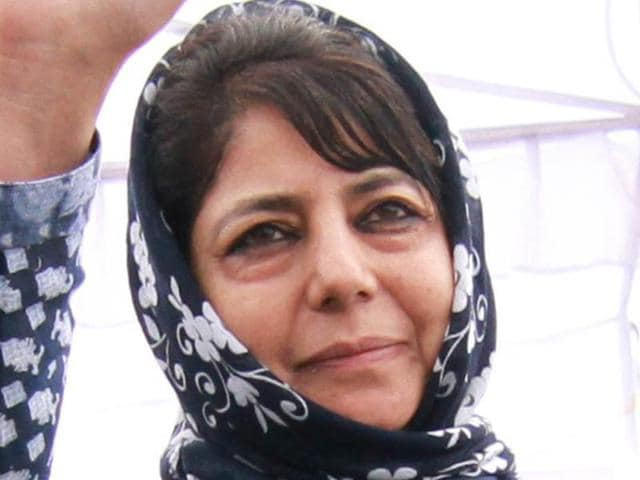 Peoples Democratic Party president Mehbooba Mufti