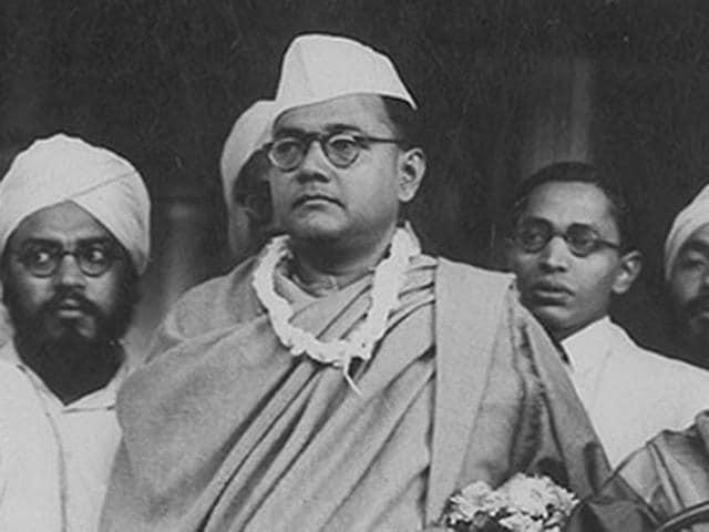 A family photograph of Netaji