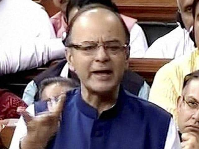 Moving the Aadhaar (Targeted Delivery of Financial and Other Subsidies, Benefits and Services) Bill, 2016, in the Rajya Sabha, finance minister Arun Jaitley responded to the objections raised by the Opposition members at it being designated a money bill, saying that the Lok Sabha speaker's decision to do so cannot be questioned.