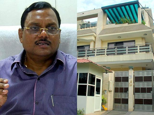 Yadav Singh, former Noida chief engineer, who was removed over corruption allegations.