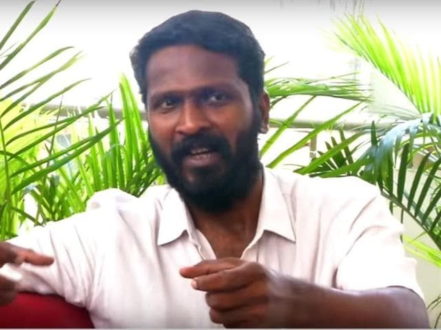 Vetrimaaran is among the most exciting Tamil filmmakers today. All his films have been applauded -- Polladhavan (2007), Aadukalam and now Visaaranai.