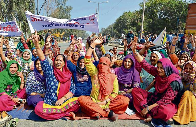 Quota row,Jats,Haryana